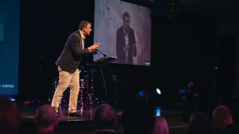 Michael Ramsden speaks on faith and Christian apologetics at C3 Oxford Falls
