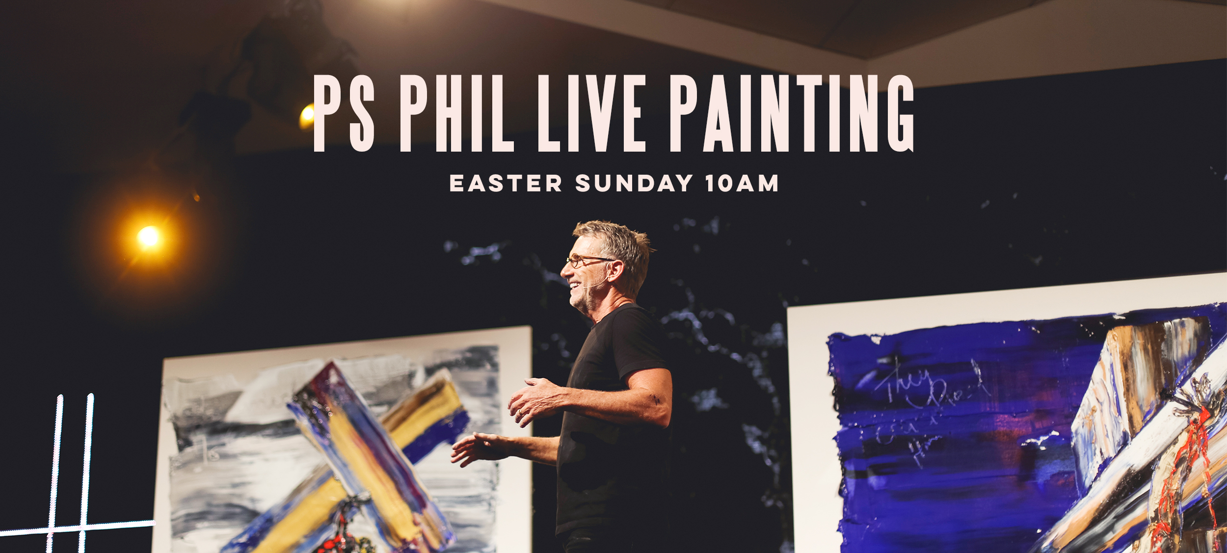 Easter Live Painting