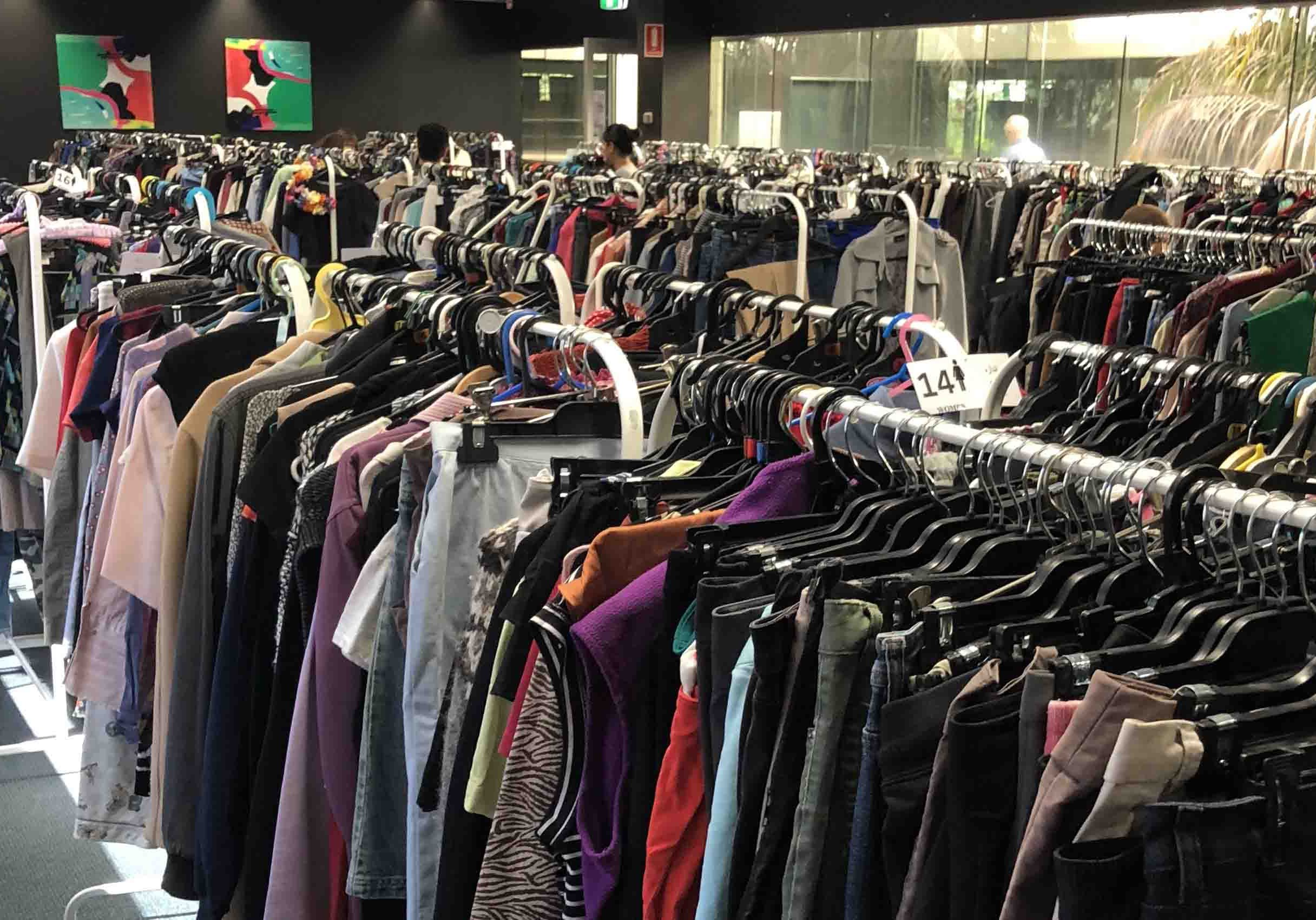 C3Cares Clothing Room